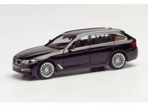Bilde av BMW 5er, touring, svart